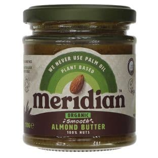 Meridian Almond Butter Smooth Organic - 170g